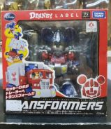 Takara Tomy Transformers Disney Label Mickey Mouse