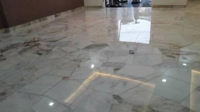 Terrazzo Polish Marble Parquet Pasang