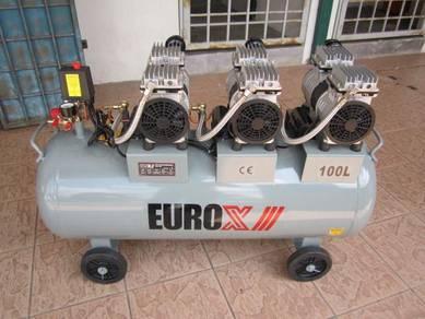 EuroX 2.2HP Silent & Oil-Less Air Compressor