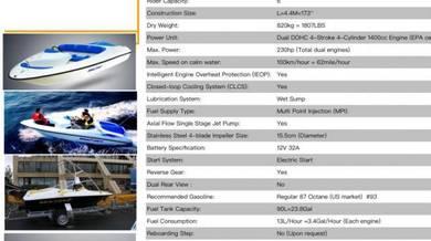 Jetski (NEW) Engine 2500cc (Johor Bahru)