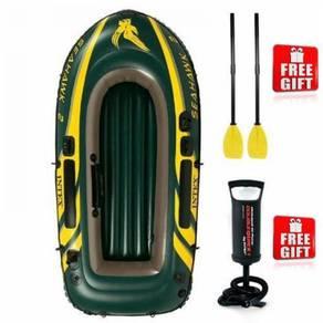Intex seahawk inflatable boat set 2 person