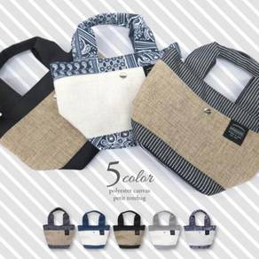 Japan Addninth Polyester Canvas Bag Handbag