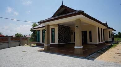 Bina Rumah Banglo Di Bachok,Kelantan