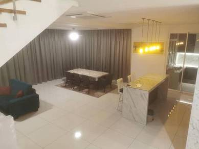 Fully Furnished + Renovated Spacious Semi-D For Rent
