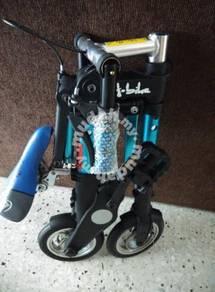 Folding bike a-bike