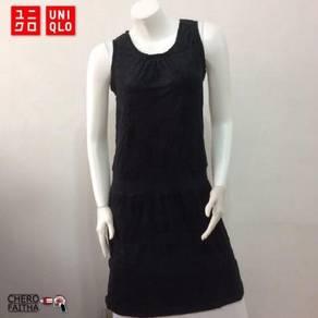 Uniqlo Baju rayon original gown dress sleeveless s