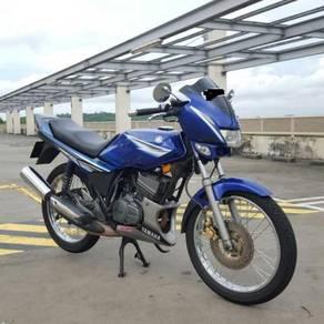 2010 Yamaha rxz catalyzer