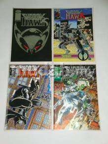 SHADOWHAWK I, II, III comics set by Jim Valentino