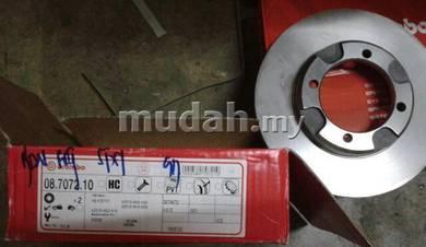Proton saga iswara front brake disc rotor brembo