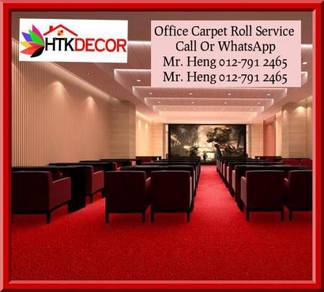 Natural Office Carpet Roll with install 4u66