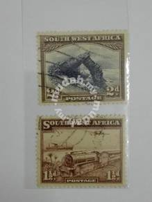 (RB 112) 1931 & 37 South West Africa Stamps - used