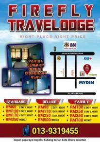 Bilik standard hotel dan hostel - Firefly Travelodge