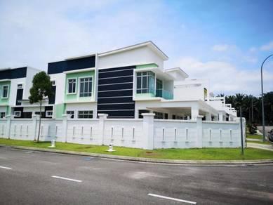 Corner Cluster House, Extra Land 20ft, 5min Ke Dato Onn