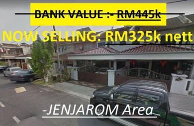 JENJAROM 2sty / (RM120k BELOW VALUE)