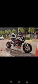 2018 OCT Benelli TNT 135i Motor