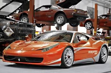 Ferrari f458 novitec suspension hydraulic kit
