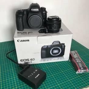 Canon 6D mark II + 50mm 1.8 canon lens