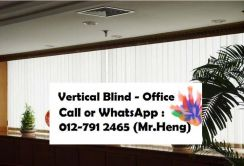 Supplied/Install Vertical Blind for Office VQ89