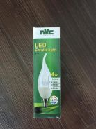 Nvc led lamp clle 4w 3000k