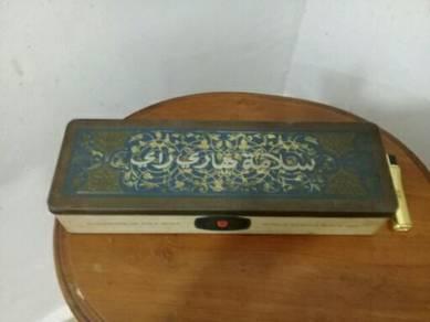 119 Kotak rothmans tin jawi antik vintage rare