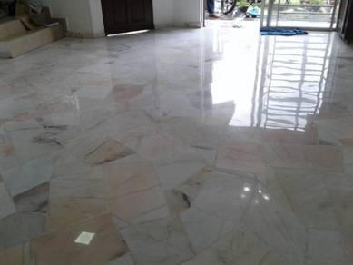 Marble Polish Parquet and Terrazzo