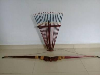 119 Alat memanah anak panah archery antik rare