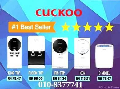 Penapis Air CUCKOO Water Filter Senibong S3XPW