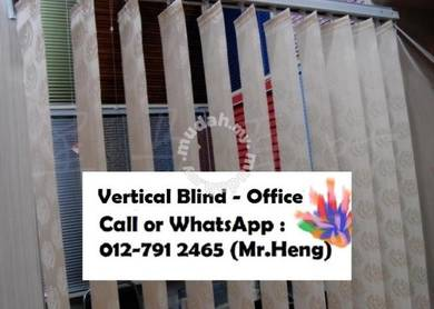 Modern Office Vertical Blind with Install AP87