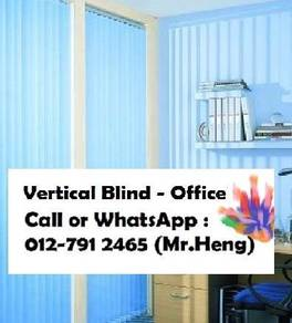 Plain Colour Vertical Blind for Office AE23
