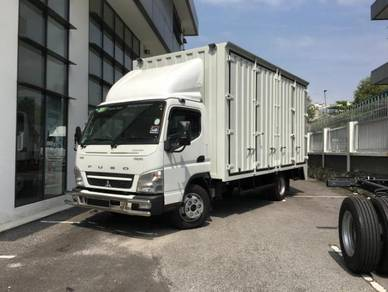 Lori Baru 5tan Box Mitsubishi Fuso 10-21kaki ISUZU