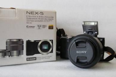Very Good NEX5 NEX-5 NEX 5 with kit 18-55mm & box