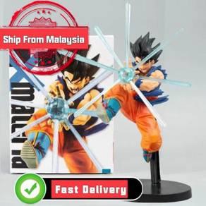 Dragon Ball Z Black Hair Goku Action Figure 19cm