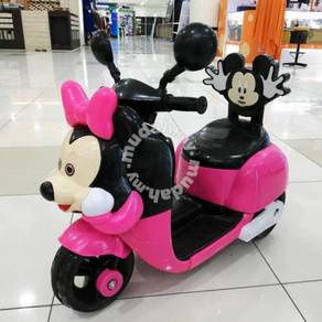 Baby bike Motor scooter kanak-kanak pink