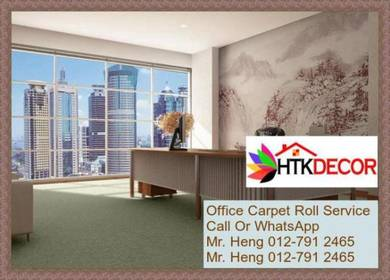 Modern Office Carpet roll with Install 3873D