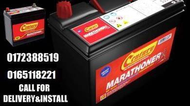 Amaron Century car battery delivery Bateri kereta