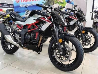 Kawasaki Z250SL New Colour ~ KHM Kian Huat