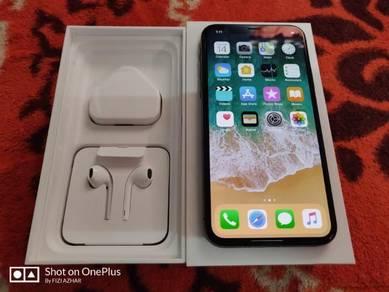 Iphone x 64gb set MY