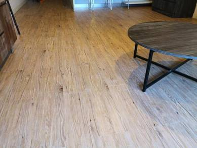 Vinyl Floor Lantai Timber Laminate PVC Floor M322
