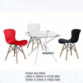 Cafe Concept Meeting Table Set iQac8372 (1+4)