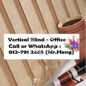 New Office Vertical Blind- with install BR39