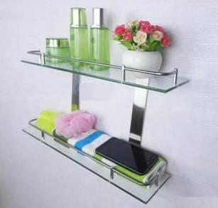 Bathroom glass rack 204 / rak kaca bilik mandi