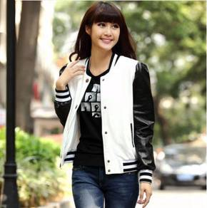 J3151 Varsity Cardigan Sweater Baseball Jacket