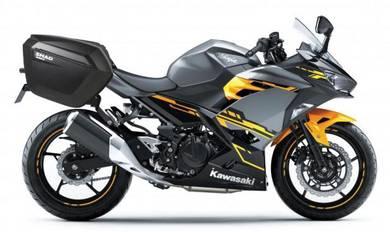 Shad sh23 side case for Kawasaki Ninja 250 2019