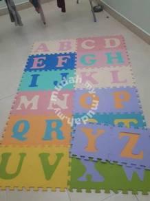 26Pcs Alphabet Puzzle Mat Foam Floor