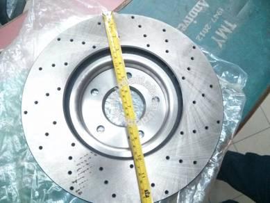 BREMBO TRW New Front Disc Rotor Mitsubishi Evo 7