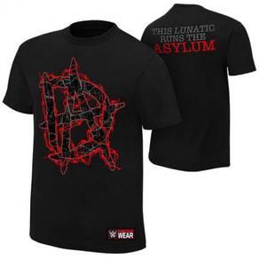 WWE WWF T Shirt Dean Ambrose 2016 DA Asylum Baju