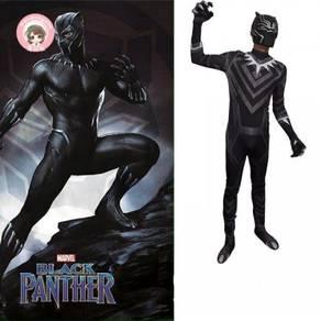 Marvel Avenger black panther cosplay battle suit