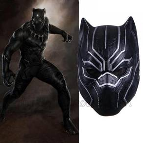 Marvel Avenger black panther cosplay mask wearable