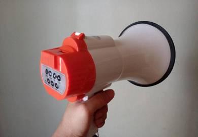 Megaphone Hailer / Pembesar Suara / Bunyi Kuat