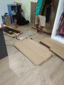 LANTAI KEMASAN VINYL l vinyl flooring material